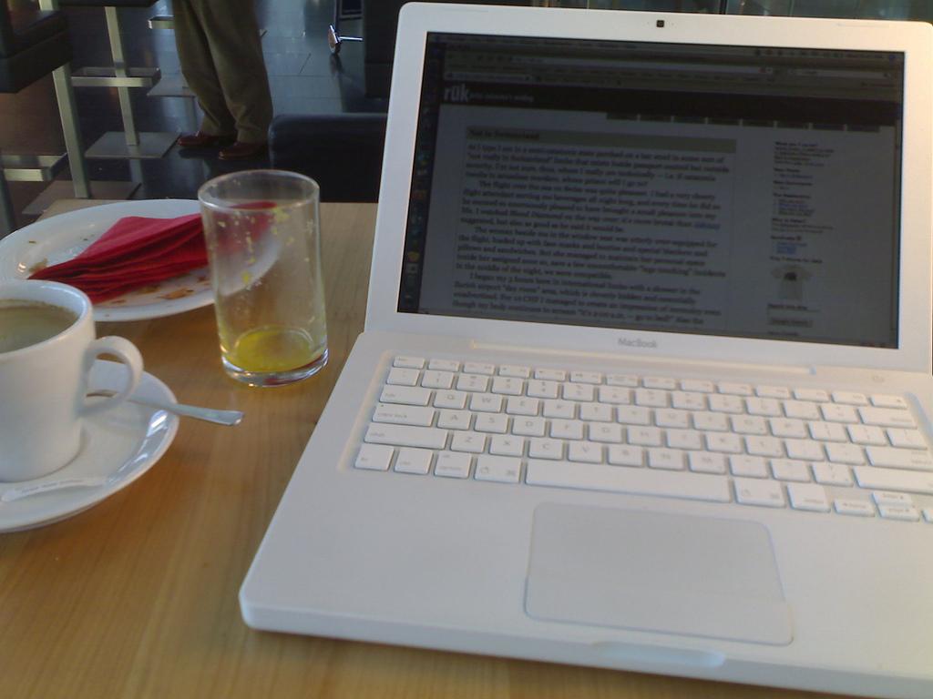 Blogging in Zurich