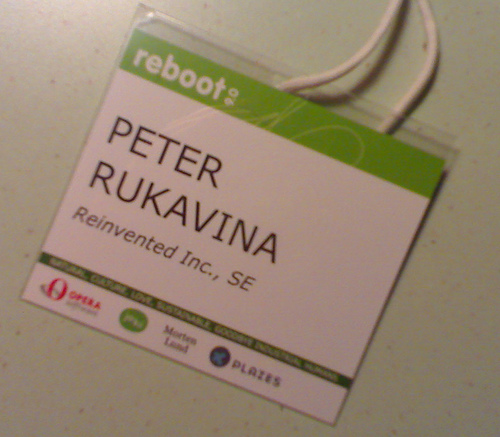 My Reboot Badge