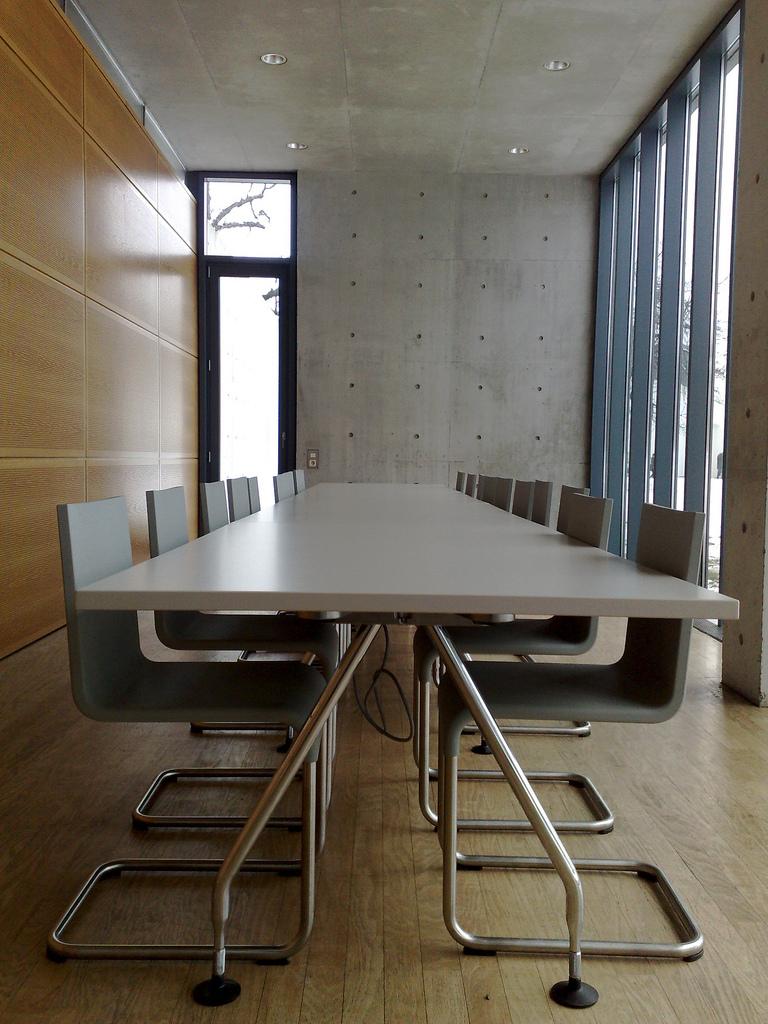 Tadao Ando Pavillion Conference Table