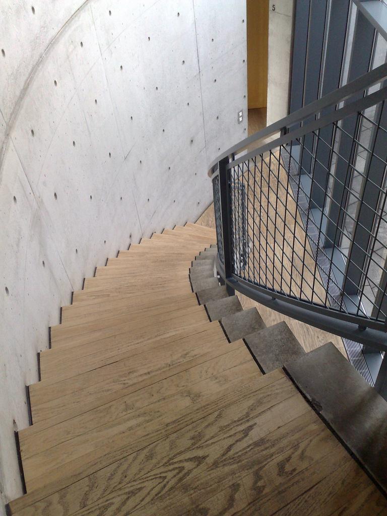 Tadao Ando Pavillion Stairs