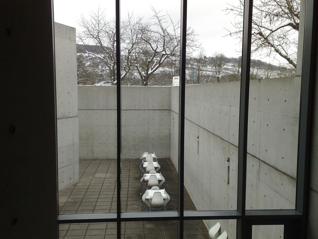 Tadao Ando Pavillion Courtyard
