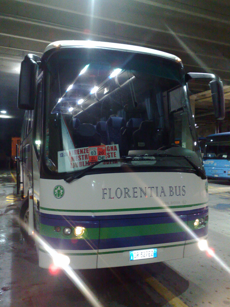 Bus from Venice to Ljubljana