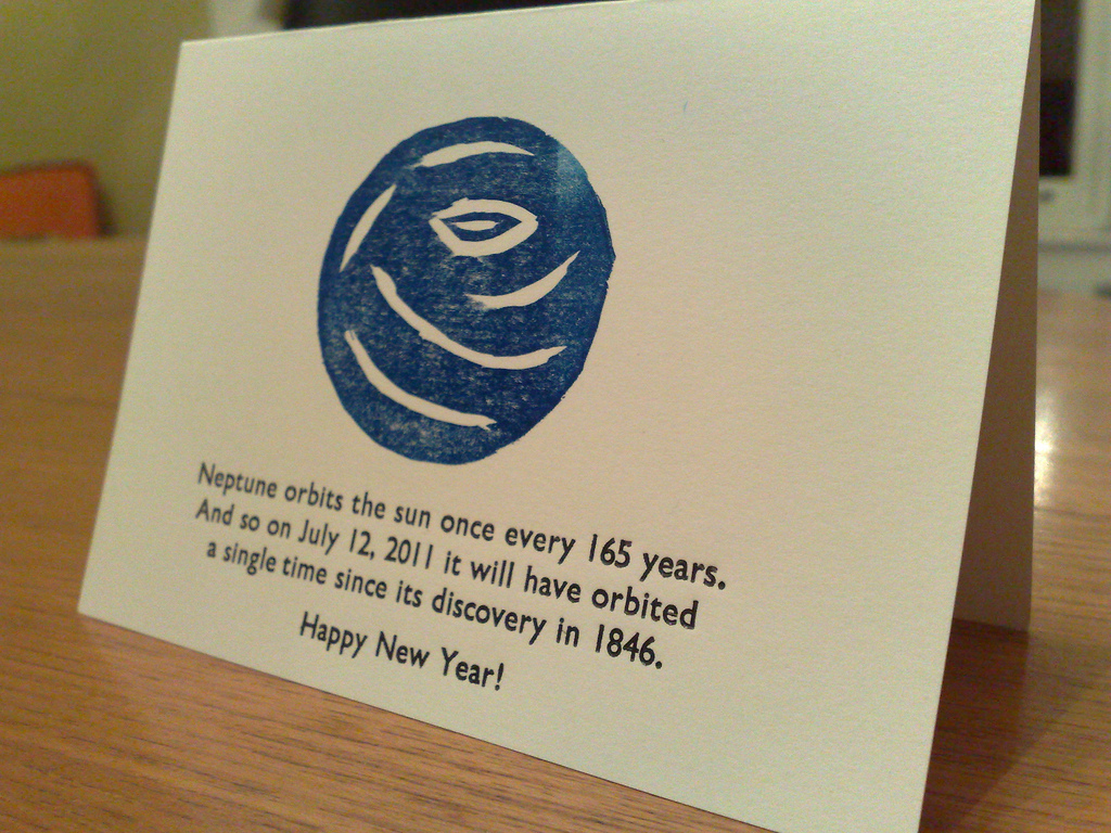 2011 New Years Card