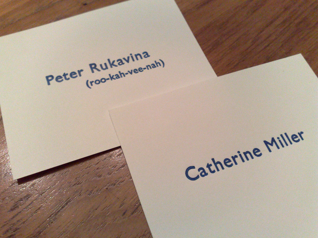 Calling Cards for New Year's Day