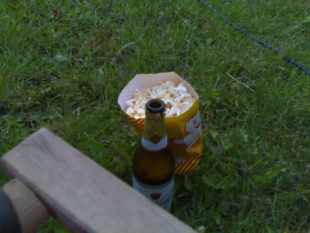 Beer and Popcorn at the Movies