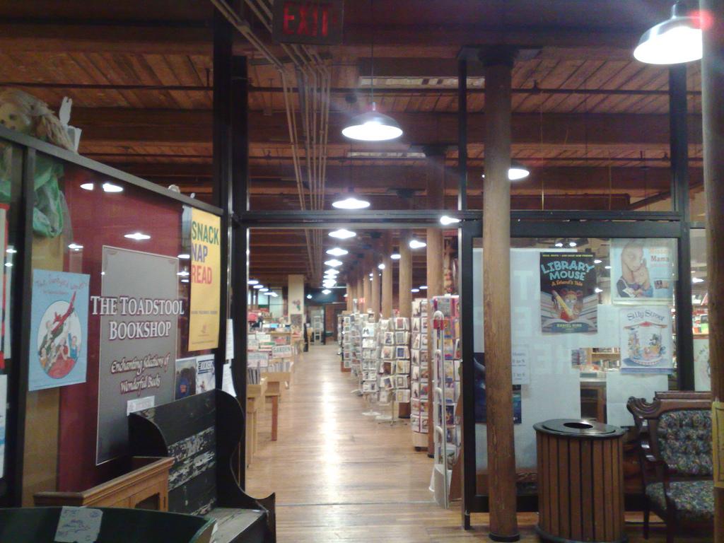 Toadstool Books in Keene
