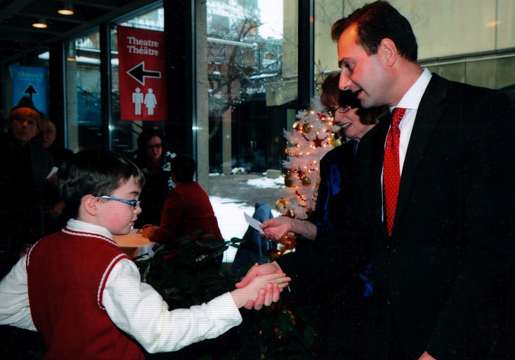 Oliver and Hon. Robert Ghiz