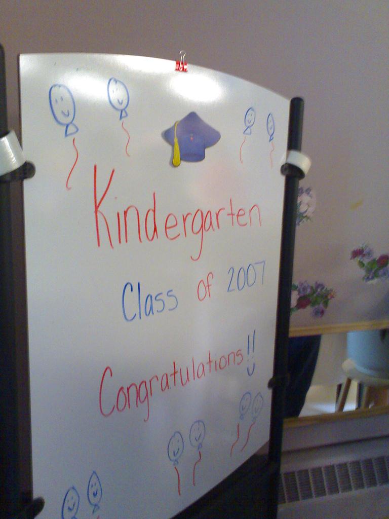 Kindergarten Class of 2007