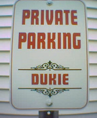 Private Parking: Dukie