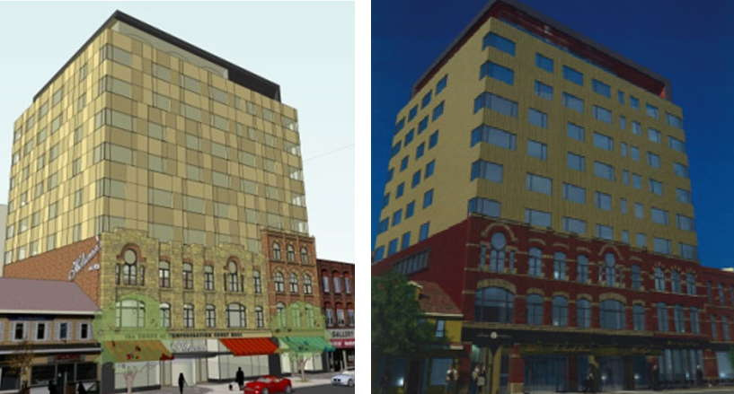 Holman Hotel Before After
