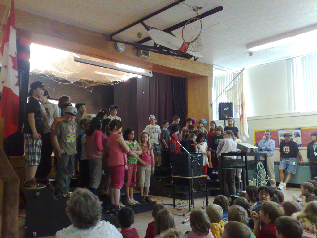 Prince Street School Volunteer Assembly