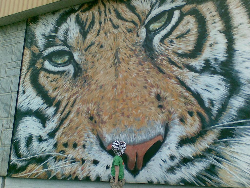 Oliver at Giant Tiger