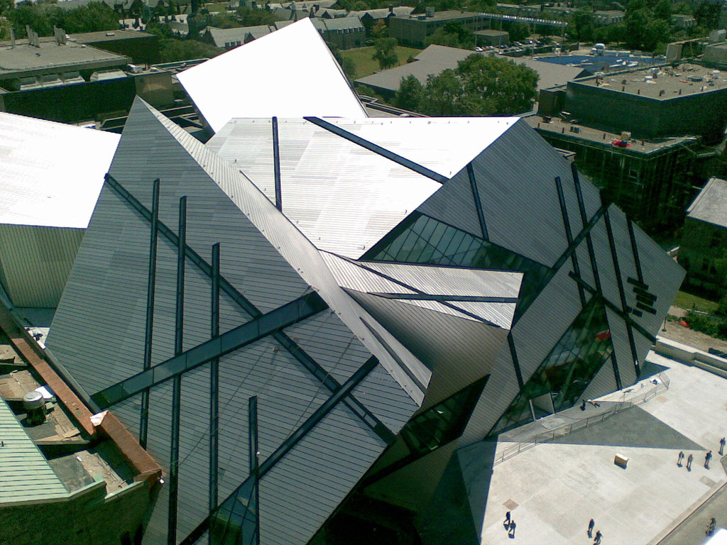 The ROM Crystal from Above