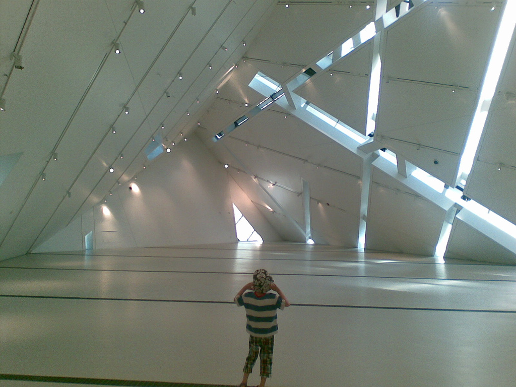 Oliver inside the ROM Crystal
