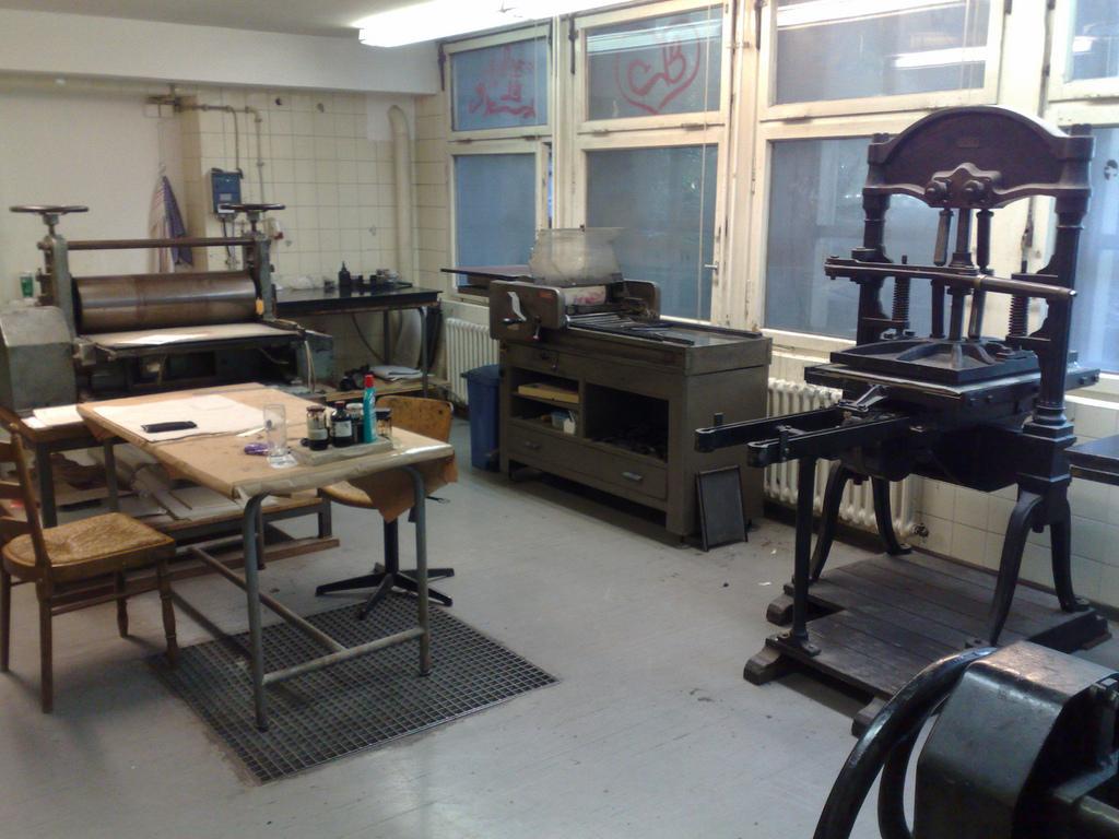 Druckwerkstatt Letterpress Shop