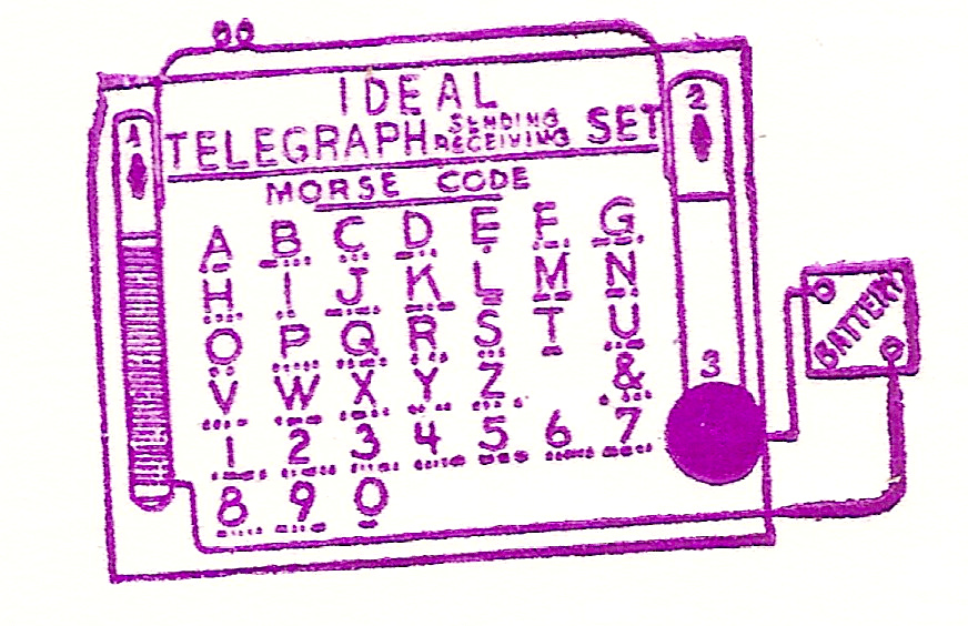 Ideal Telegraph Sending Receiving Set
