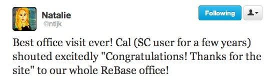 Cal Visits SoundCloud