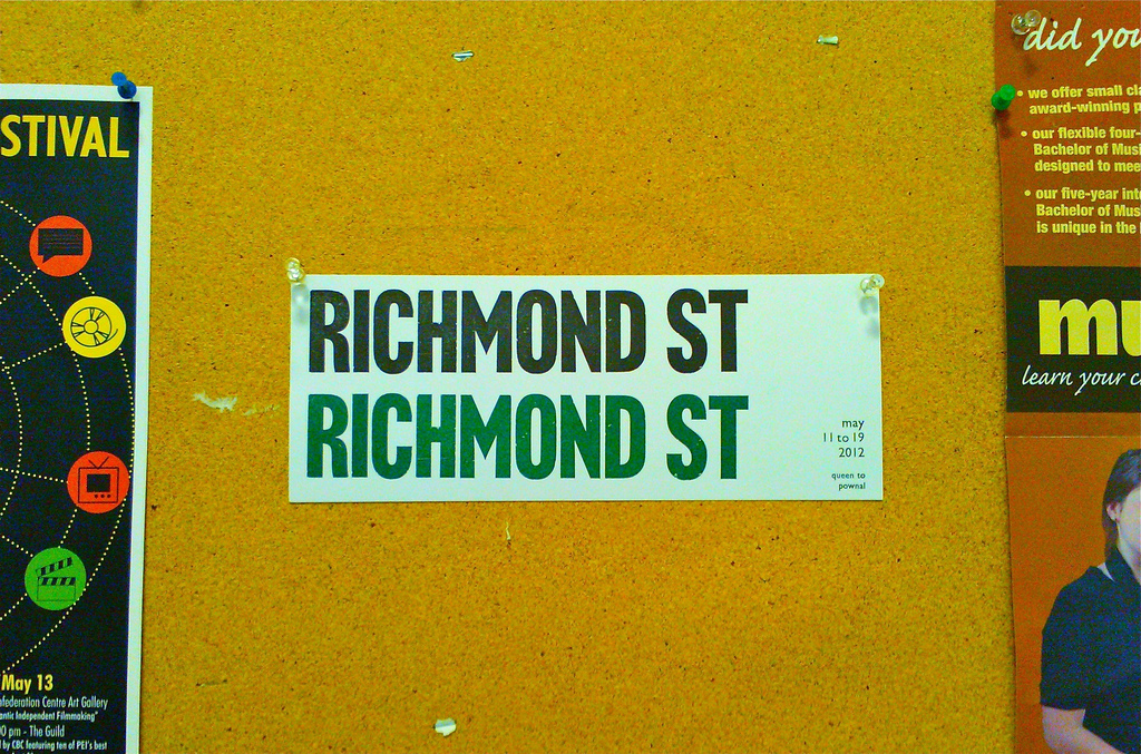 Richmond Street Poster