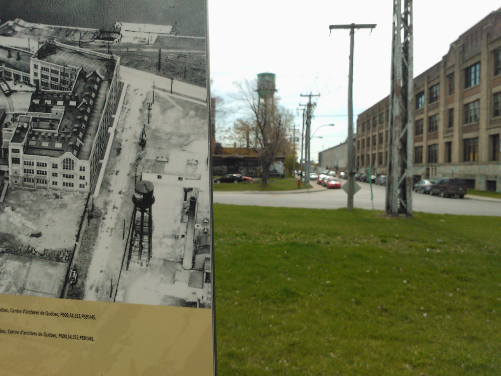 Water Tower, Then and Now
