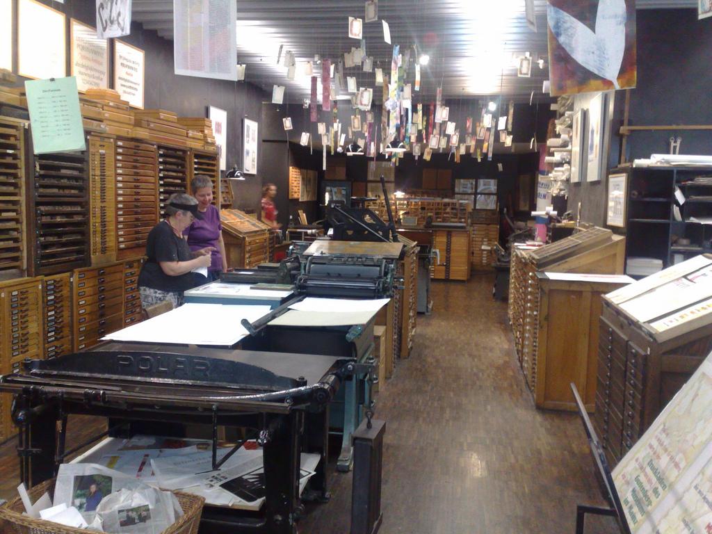 Gutenberg Museum Druckladen