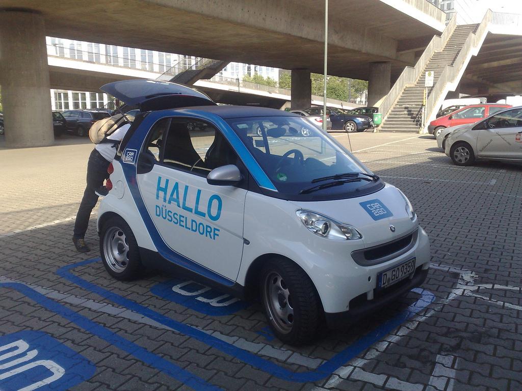 Düsseldorf SMART Car Share