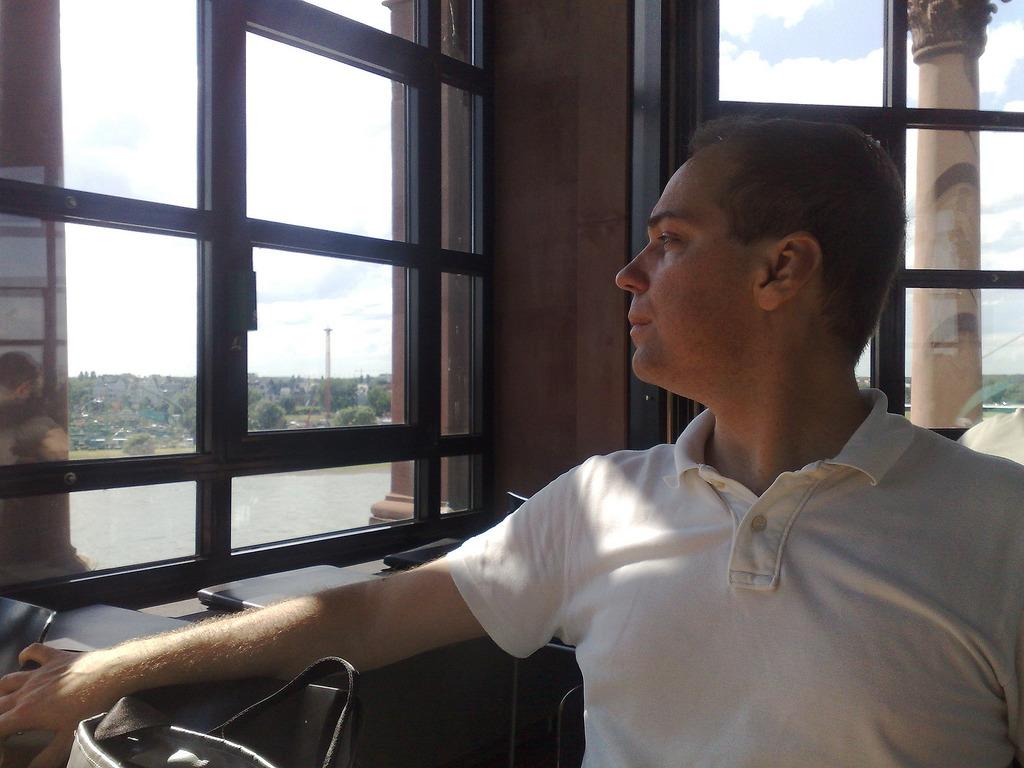 Pedro in Tower Café