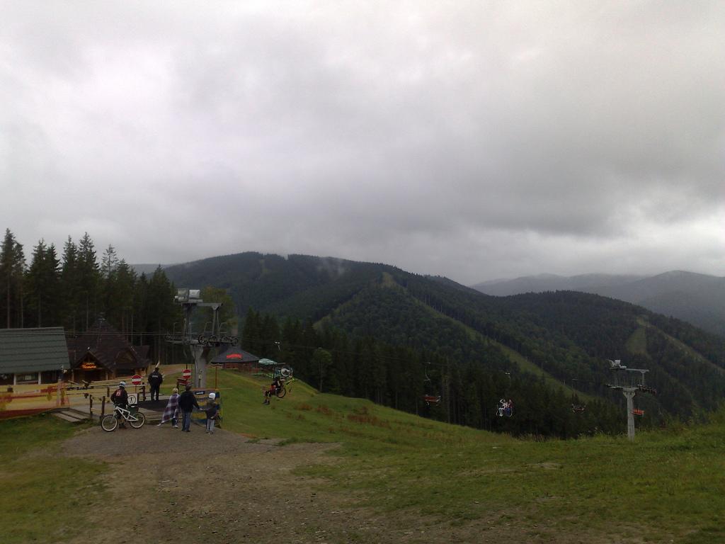 High up at Bukovel