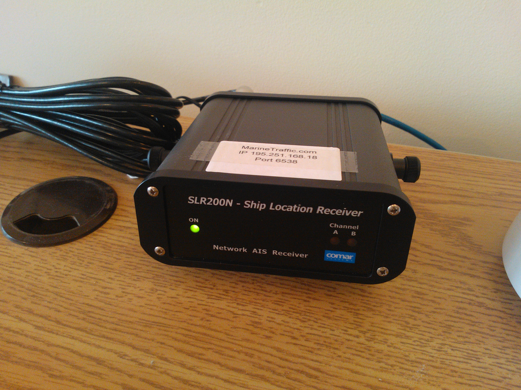 SLR200N Ship Location Receiver at The Reinventorium