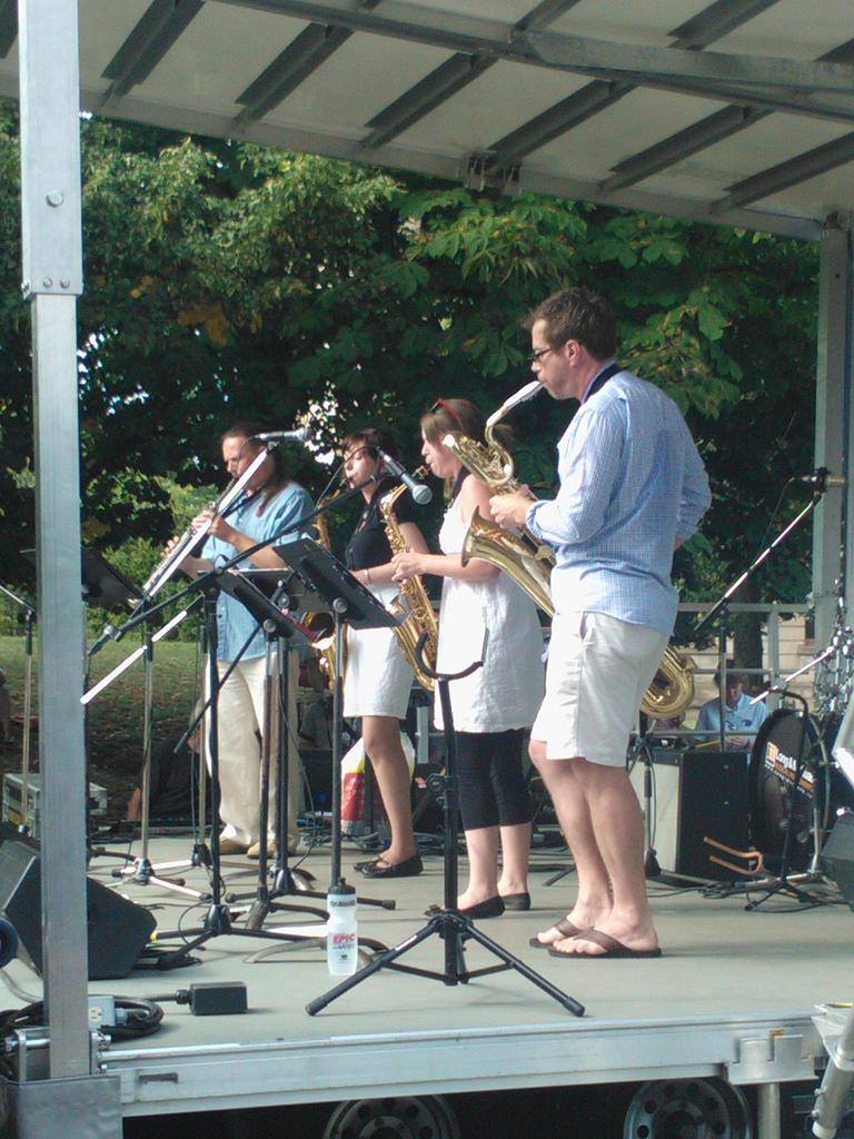 Nikki Shcieck Sax Quartet