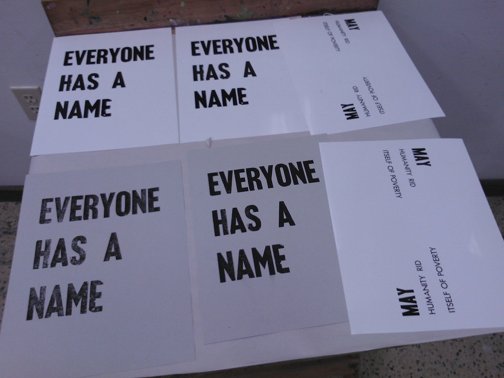 Everyone Has a Name