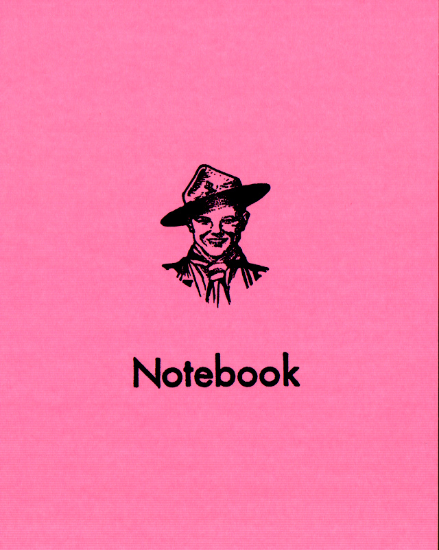 Pink Scout Notebook Cover