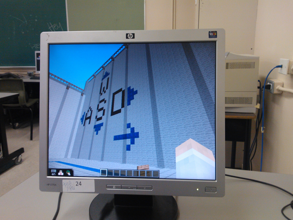 Minecraft Client run in PEI School Computer Lab