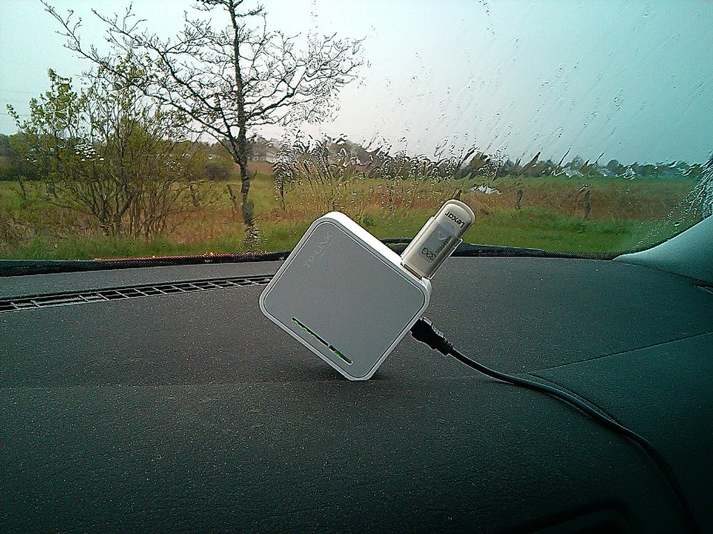 PirateBox in my Car