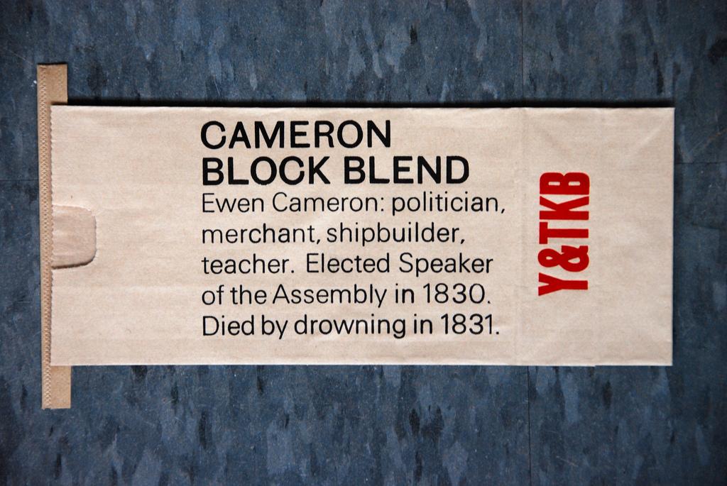 Cameron Block Blend