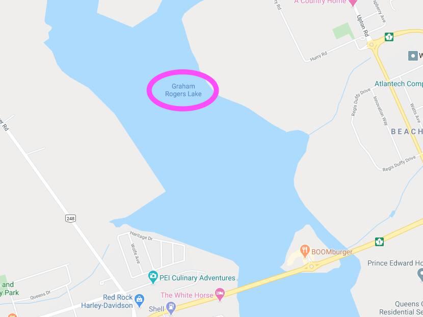 Graham Rogers Lake on Google Maps