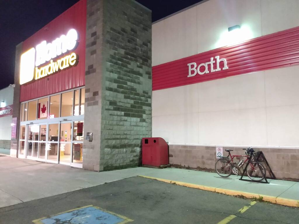 New bicycle rack installed at Home Hardware in Charlottetown