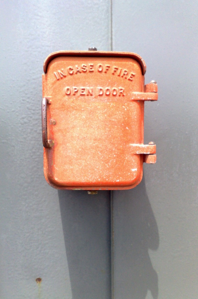 Fire Box at Coast Guard Compound in Charlottetown