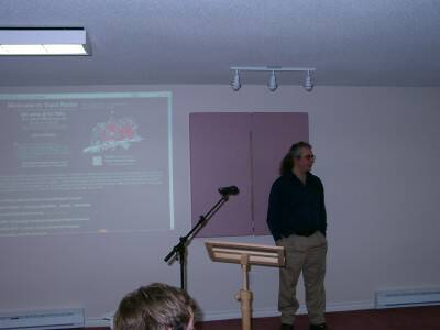 John Muir at Zap Your PRAM 2003
