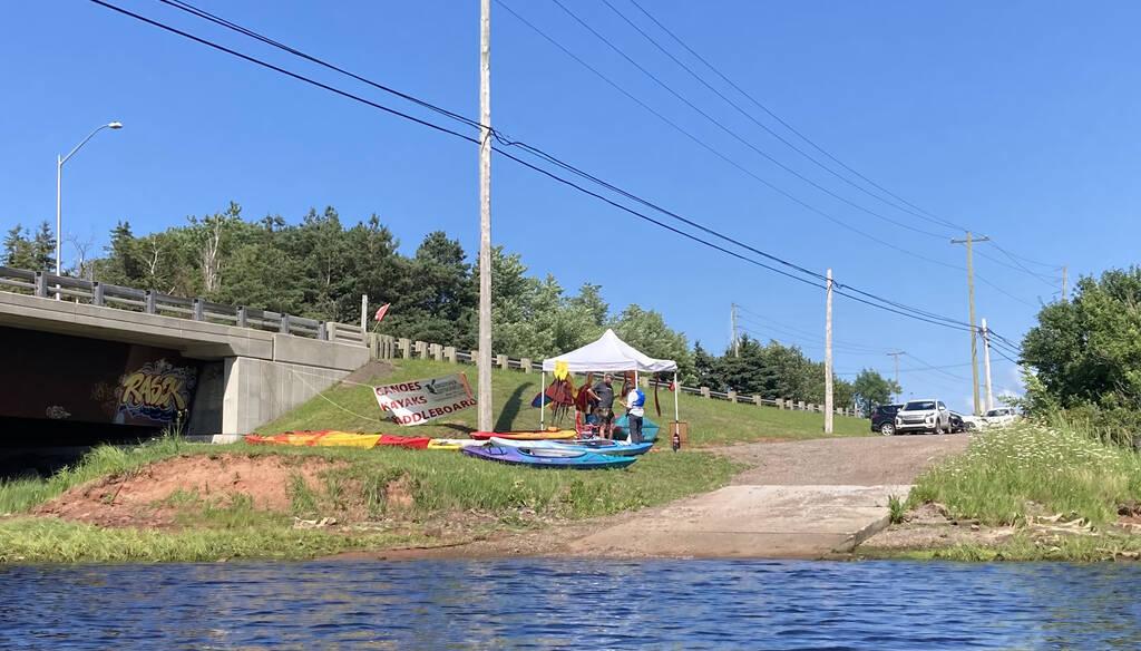 Kingfisher Outdoors base in Midgell.