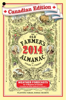 The Old Farmer's Almanac cover for 2014.