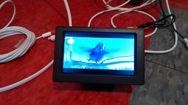 Video on Backup Camera display