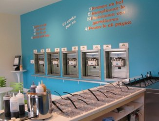 Island Frozen Yogurt Bar