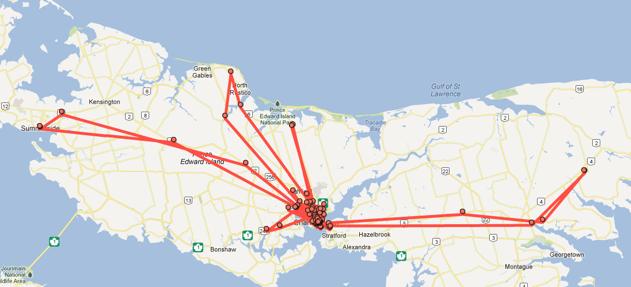 Google Latitude Map