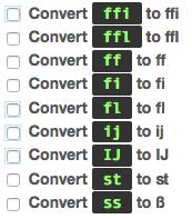Turning off Typogrify Ligatures