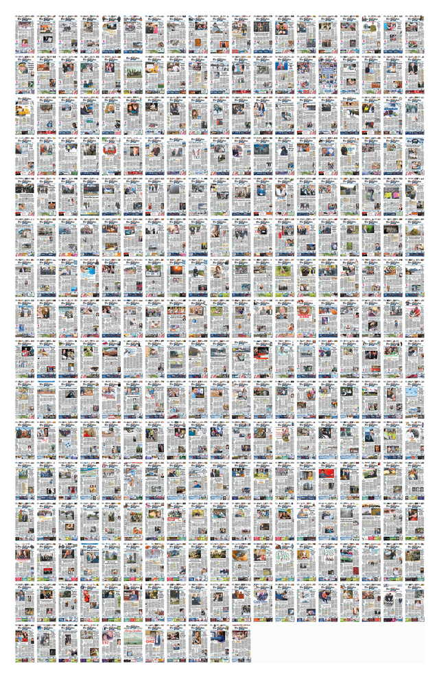 The 2012 covers from The Charlottetown Guardian.