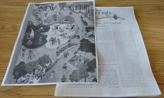 The Resulting Pseudo New Yorker