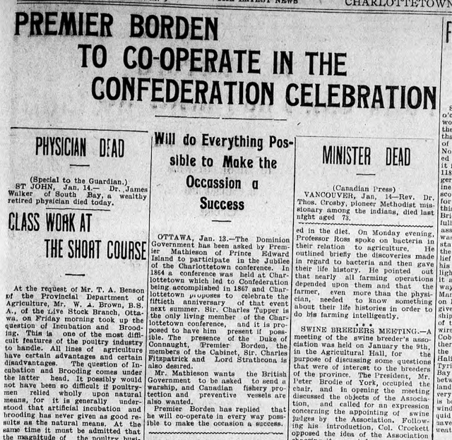 Story from The Guardian, January 15, 1914