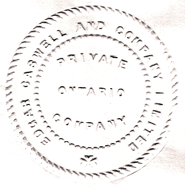 Edgar Caswell and Company Limited Corporate Seal