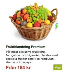 An office fruit basket.