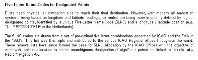 ICAO 5LNC Explanation